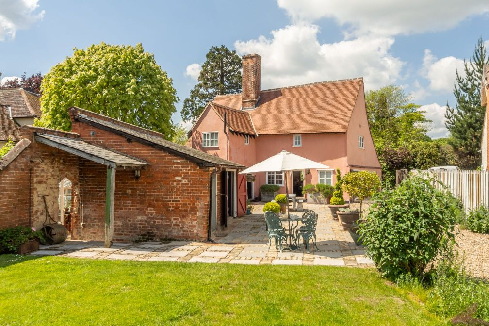 barhams manor is one of our biggest Suffolk holiday cottages